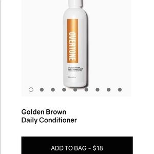 Overtone Golden Brown Daily Conditioner